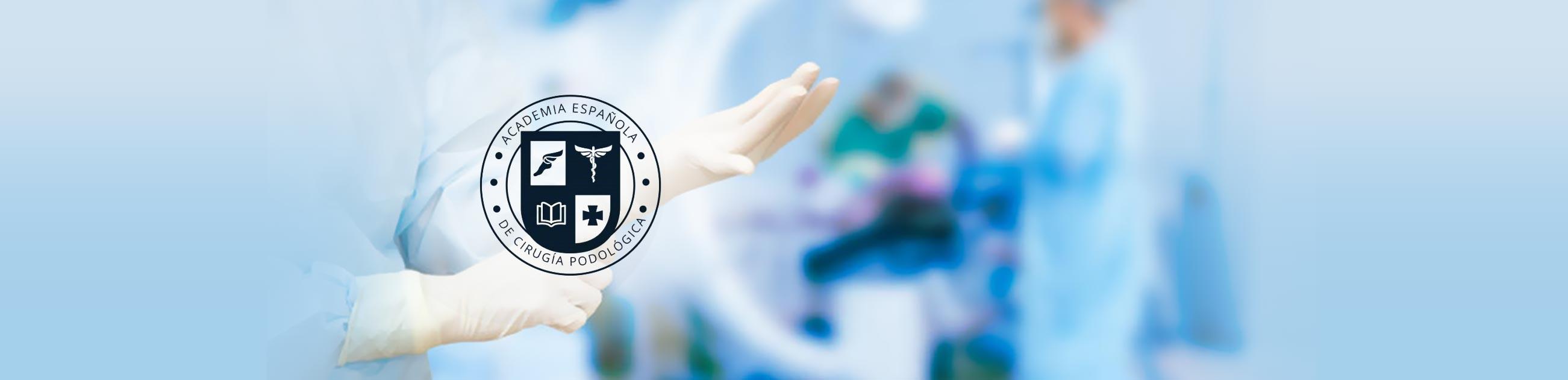 logo aecp asociacion española de cirugia podologica